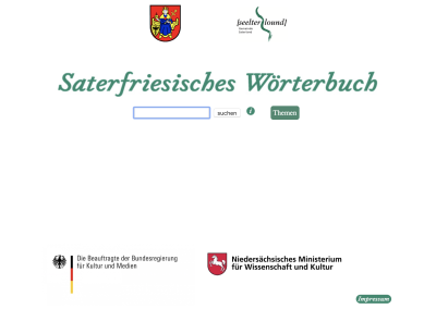 Saterfriesisches Wörterbuch